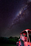 Milky way stars  Royalty Free Stock Images