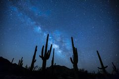 Milky Way, Stars, Night, Sky Stock Images