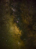 Milky way and stars Stock Photo