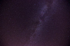 Milky Way and stars Stock Photos