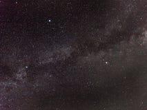 Milky way in summer Stock Photos