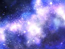 Milky way. Summer night milky way background Royalty Free Stock Images