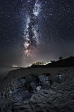 Milky Way. (Summer in Ukraine Stock Photo