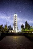 Milky Way  tower Royalty Free Stock Image