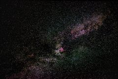 Milky Way. In the universe,Universe  , astronomy,Galaxy,space,universe,Star fog,,Starry sky,To stars street,science,n Stock Photos