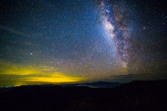 Milky Way. Wide field long exposure photo of the Milky Way Stock Photography