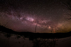 Milky way Royalty Free Stock Image