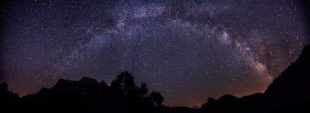 Free Milky Way With Mountains Stock Photos - 40423483