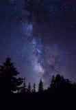Milky Way at Yosemite National Park Stock Images