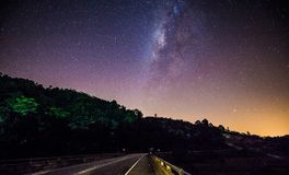 Milkyway Stock Foto's