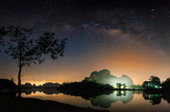 Milkyway Fotografia Stock