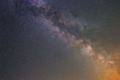 Milkyway  background. Beautiful milkyway on a night sky background Stock Photography