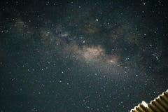 Milkyway. Beautiful milkyway in Yogyakarta& x27;s sky Royalty Free Stock Image