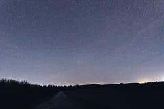 Milkyway cosmos backgroundConstellations Eridanus, Cetus, Pisce Royalty Free Stock Photography