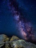 Milkyway en Cerdeña Fotos de archivo libres de regalías