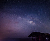 The milkyway. Full of star Royalty Free Stock Photo