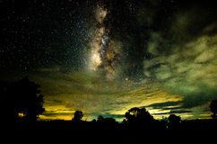 The milkyway. Full of star Stock Photos