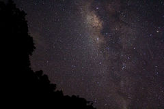 Milkyway Madakaripura Стоковое Изображение RF
