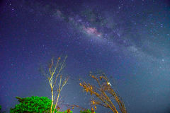 Milkyway 123. Milkyway at night with long exposure Royalty Free Stock Photos