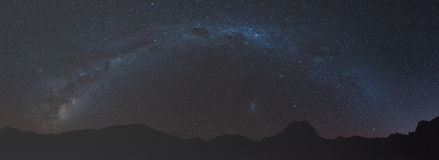 The Milkyway in Richtersveld Royalty Free Stock Photo