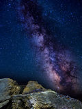 Milkyway in Sardinia Royalty Free Stock Photos
