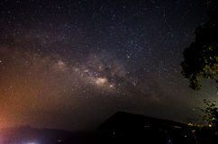 The milkyway. A sky full of stars Stock Photography