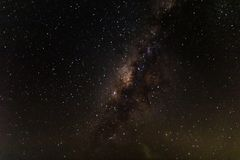 Milkyway on the sky. Milkyway on the sky with grain and noise Stock Image