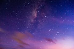 Milkyway on the sky. Milkyway on the sky with grain and noise Royalty Free Stock Photography