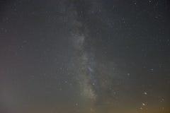 Milkyway/sternenklare Nacht Stockfotografie