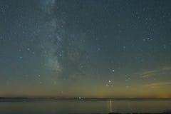 Milkyway/sternenklare Nacht Lizenzfreie Stockfotografie