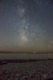 Milkyway/sternenklare Nacht Stockbilder