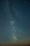 Milkyway/sternenklare Nacht Lizenzfreie Stockbilder