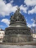 Millénaire de la Russie Photographie stock
