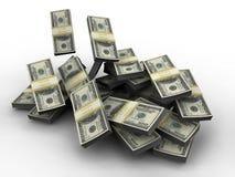 Millón de dólares Imagen de archivo libre de regalías