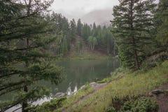 Millón de depósitos cerca de South Fork, Colorado Imagenes de archivo