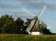 Mill. Windmill in angeln, schleswig-holstein, germany Stock Images