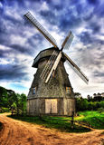 Mill. Picture of mill in high dynamic range technique Stock Photos