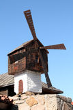 Mill. S in the resort town in Bulgaria Sazopol Royalty Free Stock Photo