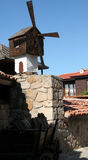 Mill. S in the resort town in Bulgaria Sazopol Royalty Free Stock Photography