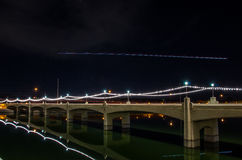Mill Avenue Bridge, Tempe, Arizona Stock Image