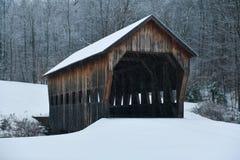 Free Mill Brook Covered Bridge - Vermont Stock Image - 168955841