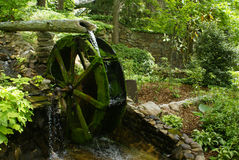 Mill churning water Royalty Free Stock Image