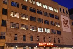 Mill City Museum in Minneapolis. Minnesota Royalty Free Stock Photos