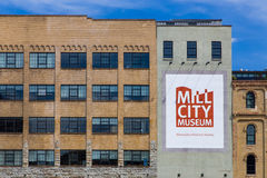 The Mill City Museum. MINNEAPOLIS, MN/USA - AUGUST 5, 2015: The Mill City Museum. Mill City Museum is a Minnesota Historical Society museum on the banks of the Stock Photos