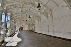 Mill Colonnade interior. Karlovy Vary. Czech Republic Stock Photography