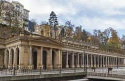 Mill Colonnade,Karlovy Vary Royalty Free Stock Photo
