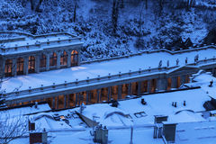 Mill Colonnade in Karlovy Vary Stock Photos