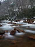 Mill Creek in Winter. Mill Creek in Pennsylvania during the winter Stock Photos