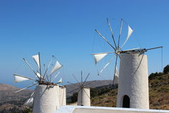 Mill on Crete. Mills on Crete in the mountains stock images