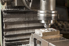 Mill cutting Royalty Free Stock Images
